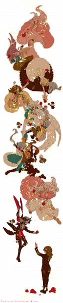 Tags: Anime, Moco (puladread), Tsurugi no Shounen, Thanatos-ko, Chronicle-ko, Elefseus, Schneewittchen, Artemisia (Sound Horizon), Layla (Sound Horizon), Picomary, Hiver Laurant, Eien no Shounen, Märchen von Friedhof