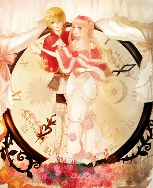 Tags: Anime, YuJuP, Sleeping Beauty, Tettere (Sound Horizon), Dornröschen (Sound Horizon), Shawl, Pixiv, Märchen, Sound Horizon
