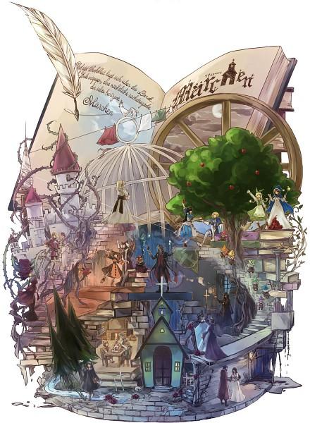 Tags: Anime, Minazuki Kurisu, The Landlady, Märchen von Friedhof, Idoko, Nonne, Elisabeth von Wettin, Schneewittchen, Aohigeko, Elise (Sound Horizon), Dornröschen (Sound Horizon), Buran-ko, Snow White