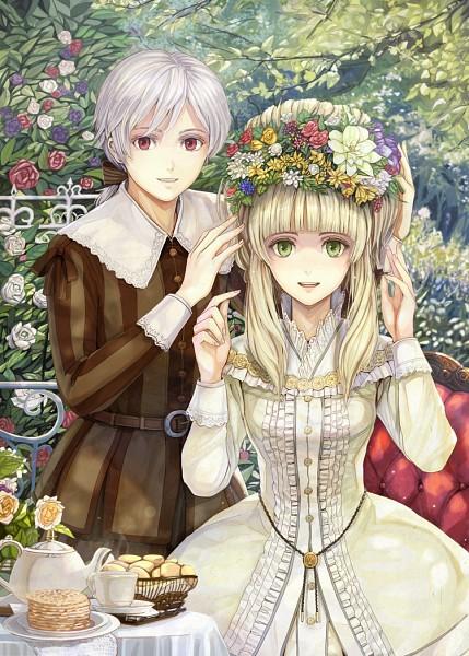 Tags: Anime, Elisabeth von Wettin, März von Ludowing, Mobile Wallpaper, Märchen, Sound Horizon
