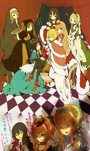 Tags: Anime, Elise (Sound Horizon), Aohigeko, Schneewittchen, Tettere (Sound Horizon), Buran-ko, Idoko, Märchen von Friedhof, Dornröschen (Sound Horizon), Elisabeth von Wettin, Nonne, Mobile Wallpaper, Märchen