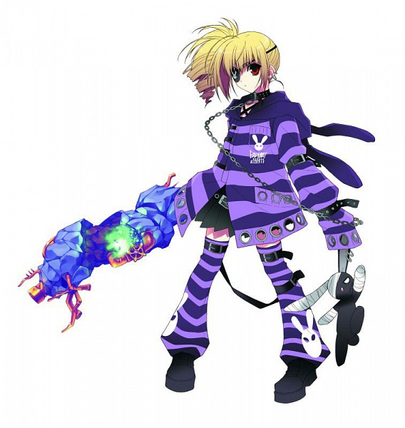 Tags: Anime, Suzuhira Hiro, Phantom Breaker, M (Phantom Breaker), Official Art