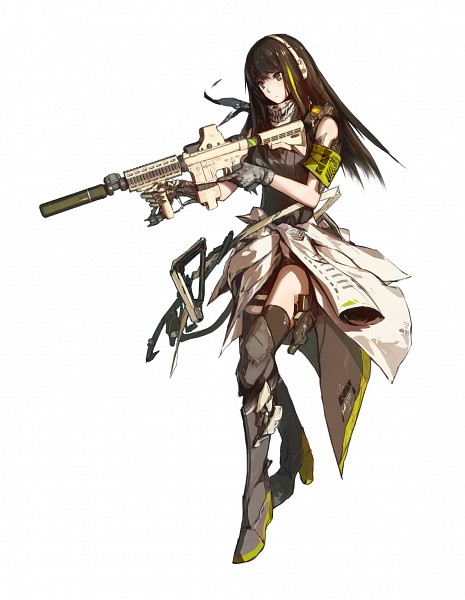 M4A1 (Girls Frontline) - Girls Frontline