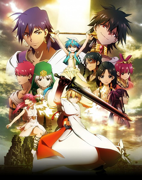 MAGI: The Labyrinth of Magic (The Labyrinth Of Magic Magi) - Ohtaka Shinobu