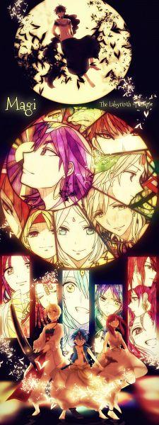 Tags: Anime, Kyanarinu, MAGI: The Labyrinth of Magic, Sharrkan, Sinbad, Pisti, Ren Hakuryuu, Ren Kouha, Morgiana, Hinahoho, Ren Kougyoku, Masrur, Ren Kouen, The Labyrinth Of Magic Magi