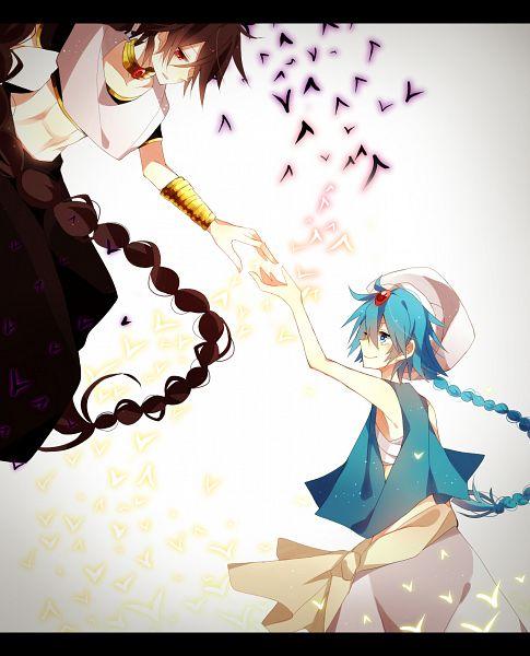 Tags: Anime, Pixiv Id 3703525, MAGI: The Labyrinth of Magic, Aladdin (Magi), Judar, Pixiv, Fanart, Fanart From Pixiv, The Labyrinth Of Magic Magi