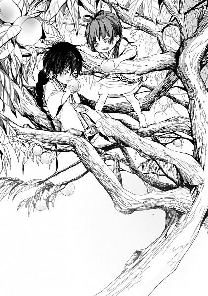 Tags: Anime, C P .Ieng, MAGI: The Labyrinth of Magic, Ren Kougyoku, Judar, Pixiv, Fanart, Mobile Wallpaper, Fanart From Pixiv, The Labyrinth Of Magic Magi