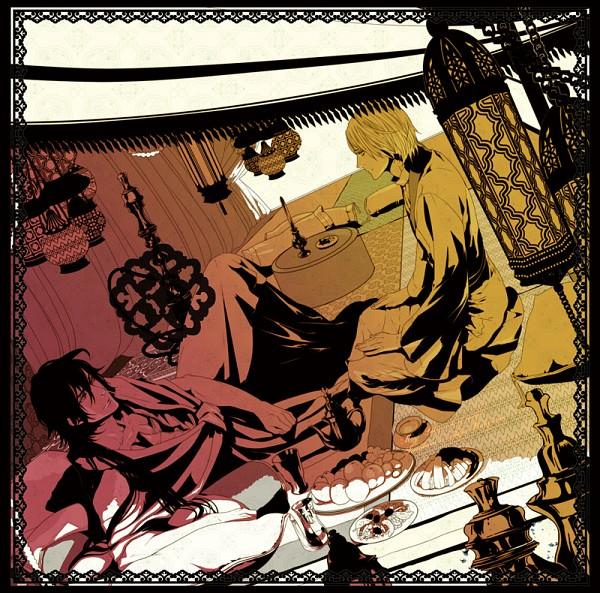 Tags: Anime, NPN, MAGI: The Labyrinth of Magic, Ja'far, Sinbad, Pixiv, Fanart, Fanart From Pixiv, The Labyrinth Of Magic Magi