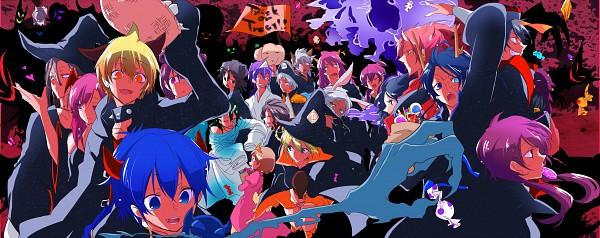 Tags: Anime, Pixiv Id 1577973, MAGI: The Labyrinth of Magic, Ren Kouen, Ali Baba Saluja, Ren Hakuei, Titus Alexius, Judar, Kassim, Spartos, Toto (Magi), Aladdin (Magi), Yamuraiha, The Labyrinth Of Magic Magi