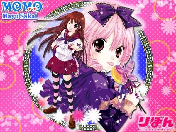 Tags: Anime, Sakai Mayu, MOMO - Shuumatsu Teien e Youkoso, Odagiri Yume, Momo (MOMO - Shuumatsu Teien), Wallpaper, Official Art