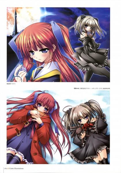 Tags: Anime, Amane Hibiki, Siesta (Studio), MOON CHILDe, Yuduki Sakuya, Rinne, Official Art