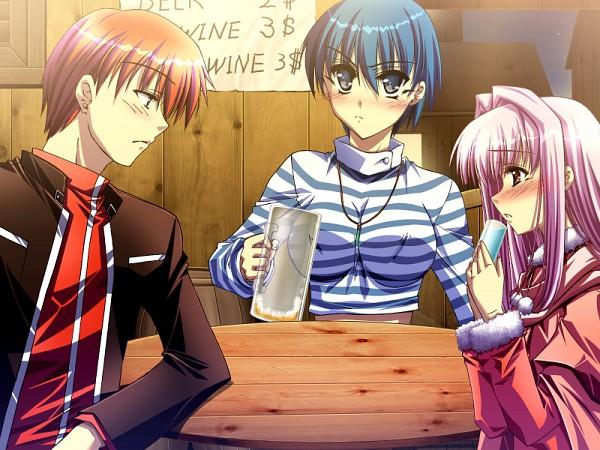 Tags: Anime, MQ ~Jikuu no Hasha~, Mysterious Woman, Lmica REM Ardelhaid, Tsukikage Shou, CG Art