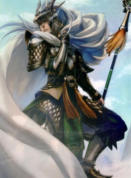 Tags: Anime, Dynasty Warriors, Ma Chao, Official Art