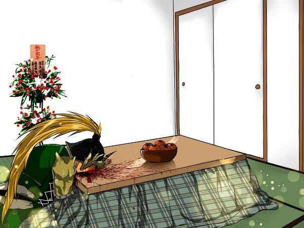 Tags: Anime, Pixiv Id 16454496, Sakichi6891, Dynasty Warriors, Ma Chao, Faceplant, Fanart From Pixiv, Fanart, Pixiv