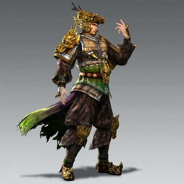 Tags: Anime, Dynasty Warriors, Ma Chao, Official Art