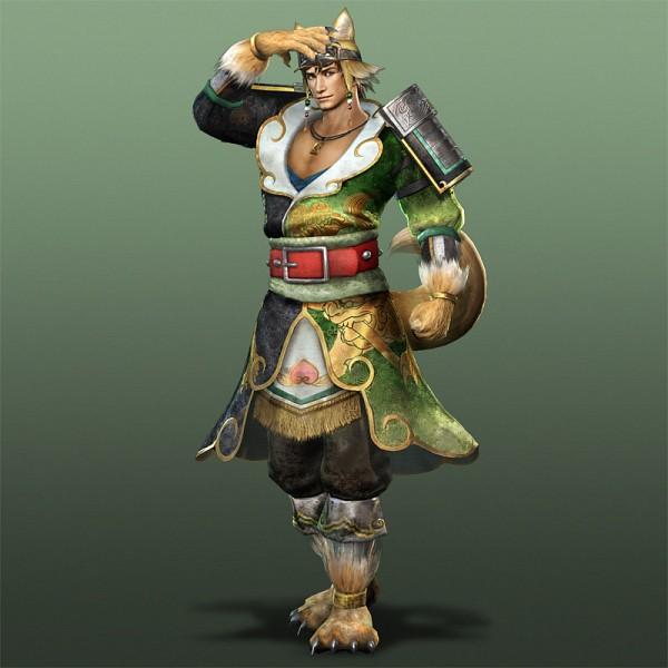 Tags: Anime, Dynasty Warriors, Ma Dai, Dog Tail, Official Art