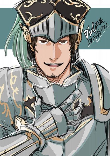 Tags: Anime, Pixiv Id 6381863, Dynasty Warriors, Ma Dai, Knight, Fanart From Pixiv, Fanart, Pixiv