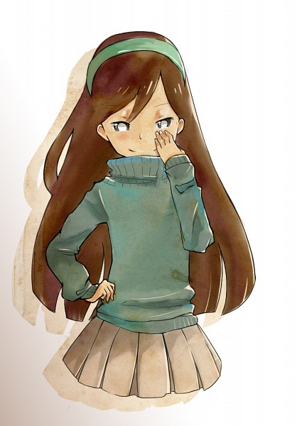Tags: Anime, Gravity Falls, Mabel Pines, Mobile Wallpaper, Artist Request