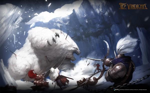 Tags: Anime, Mabinogi Heroes, Polar Bear, Official Art, Official Wallpaper, Wallpaper