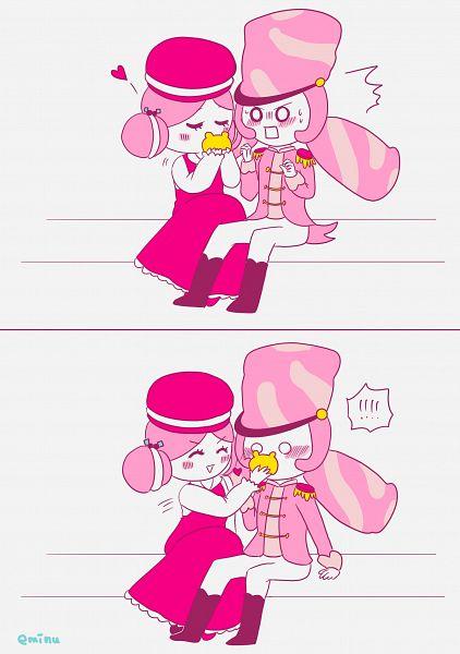 Tags: Anime, Eminu, Cookie Run: OvenBreak, Cookie Run, Macaron Cookie, Marshmallow Cookie, Pixiv, Fanart, Fanart From Pixiv, MacaMallow