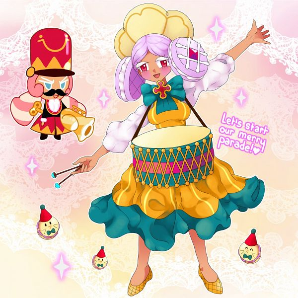 Tags: Anime, Milcherie, Cookie Run: OvenBreak, Cookie Wars, Cookie Run, Macaron Cookie, Macaron Cookie (Drummer Doll), Marshmallow Cookie, Downscale, deviantART, Fanart, Fanart From DeviantART, MacaMallow