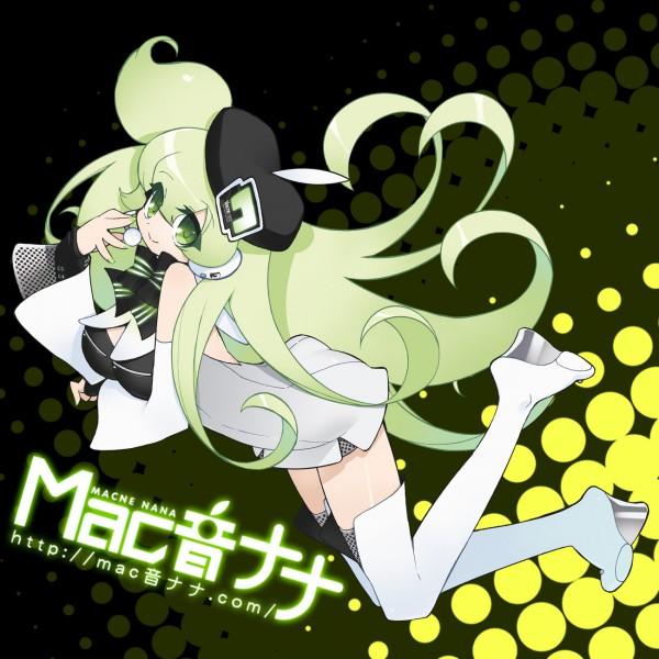 Tags: Anime, Akatsuki Gomoku, UTAU, Macloid, Macne Nana, Fanart