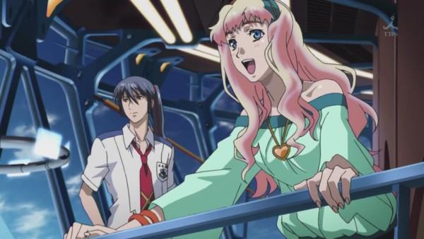 Tags: Anime, Macross Frontier, Sheryl Nome, Saotome Alto, Screenshot