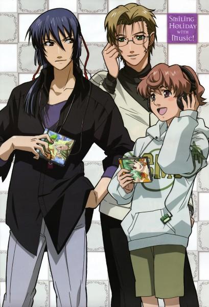 Tags: Anime, Macross Frontier, Luca Angelloni, Mikhail Blanc, Saotome Alto
