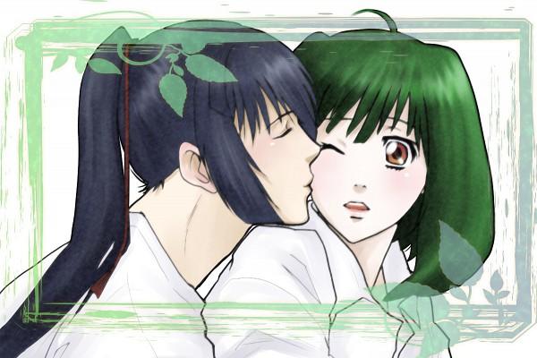 Tags: Anime, Macross Frontier, Saotome Alto, Ranka Lee