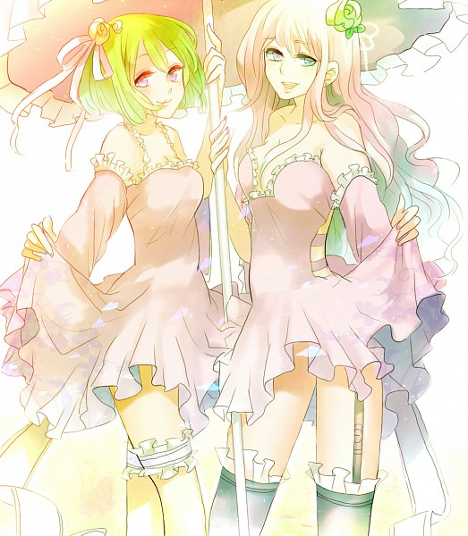 Tags: Anime, Ayatoki, Macross Frontier, Ranka Lee, Sheryl Nome