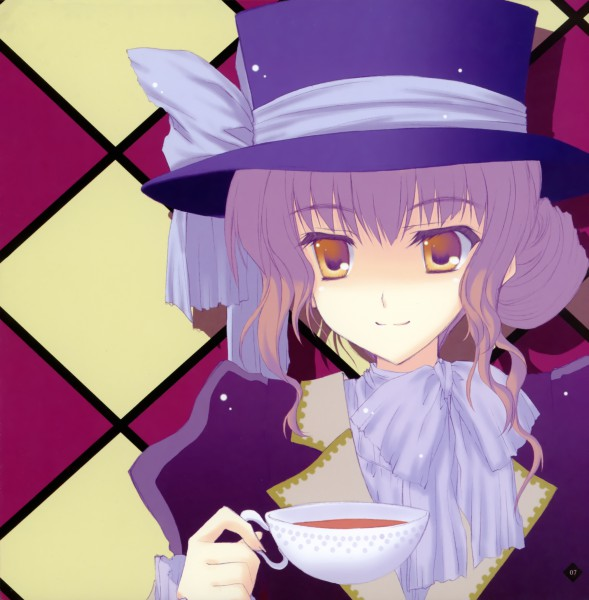 Tags: Anime, Nanao Naru, Alice in Wonderland, Mad Hatter
