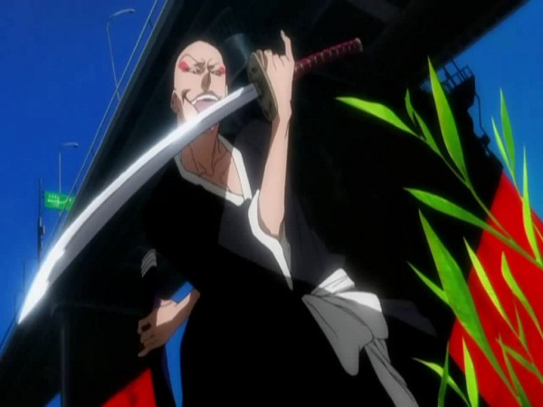 Tags: Anime, Studio Pierrot, BLEACH, Madarame Ikkaku, Screenshot, Zanpakutou, 11th Squad, Gotei 13