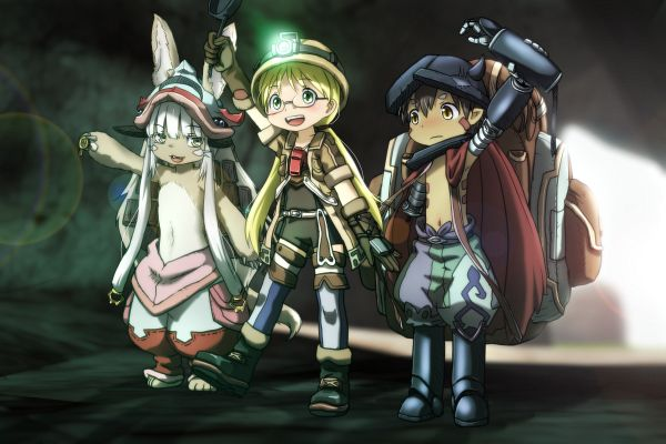Tags: Anime, Pixiv Id 2066594, Made in Abyss, Nanachi (Made in Abyss), Rico (Made in Abyss), Regu (Made in Abyss)