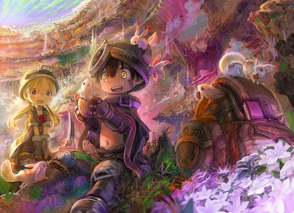 Tags: Anime, Tsukushi, Made in Abyss, Rico (Made in Abyss), Regu (Made in Abyss), Pixiv, Fanart, Fanart From Pixiv