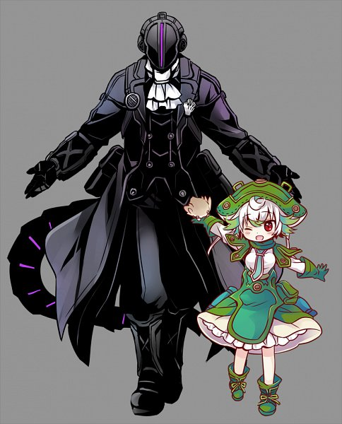 Tags: Anime, Sakurazawa Izumi, Made in Abyss, Prushka, Meinya, Bondrewd, Pet, Fanart, Fanart From Pixiv, Pixiv