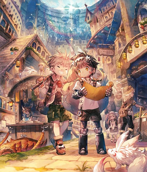 Tags: Anime, Agatsuma Rochan, Made in Abyss, Nat (Made in Abyss), Regu (Made in Abyss), Fanart From Pixiv, Pixiv, Fanart