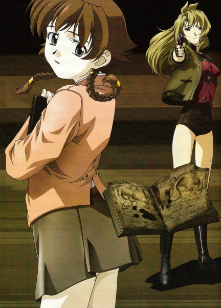Tags: Anime, Madlax, Margaret Burton, Madlax (character), Official Art