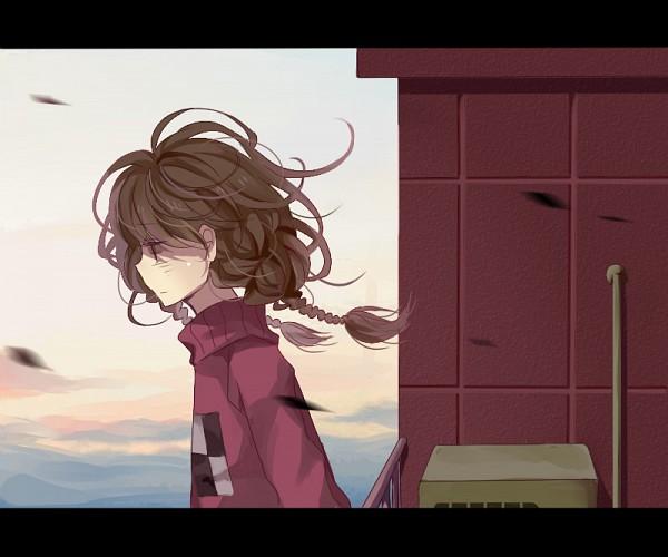 Tags: Anime, Cioccoleti, Yume Nikki, Madotsuki, Balcony, Pixiv, Fanart From Pixiv, Fanart