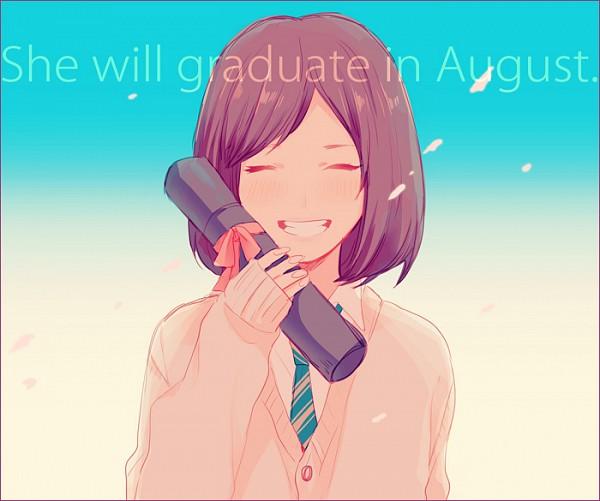 Tags: Anime, Yui (Rogusouku), Maeda Atsuko, Graduation, Pixiv, Fanart, Fanart From Pixiv, AKB48