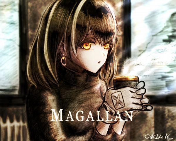 Tags: Anime, Pixiv Id 1128875, Arknights, Magallan