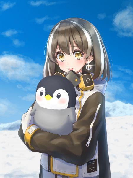 Tags: Anime, Pixiv Id 36770610, Arknights, Magallan, Pixiv, Arknights Battle Illustration Contest