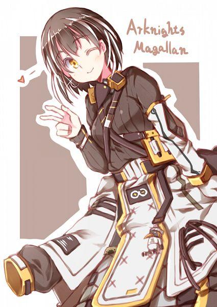Tags: Anime, Pixiv Id 86209, Arknights, Magallan