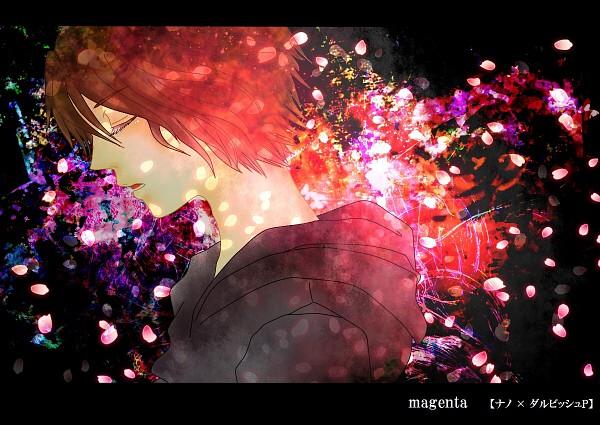 Tags: Anime, Pixiv Id 2689778, Nano (Nico Nico Singer), Black Hoodie, Magenta, Nico Nico Singer, Pixiv, Fanart