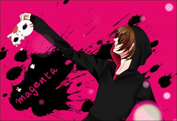 Tags: Anime, Pixiv Id 4028069, Nano (Nico Nico Singer), Black Hoodie, Nico Nico Singer, Pixiv, Magenta, Fanart, PNG Conversion