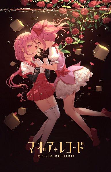 Tags: Anime, HK (Pixiv4635499), Magia Record: Mahou Shoujo Madoka☆Magica Gaiden, Tamaki Iroha, Kaname Madoka