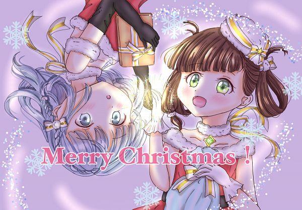 Tags: Anime, Pixiv Id 58304520, Magia Record: Mahou Shoujo Madoka☆Magica Gaiden, Awane Kokoro, Kagami Masara, Pixiv, Fanart, Fanart From Pixiv