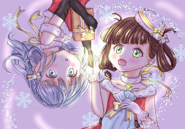 Tags: Anime, Pixiv Id 58304520, Magia Record: Mahou Shoujo Madoka☆Magica Gaiden, Awane Kokoro, Kagami Masara, Fanart From Pixiv, Pixiv, Fanart