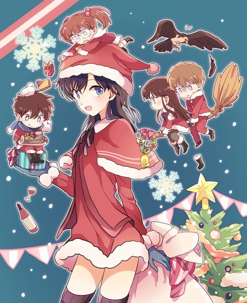 Tags: Anime, Akiyoshi, Magic Kaito, Nakamori Aoko, Kuroba Kaito, Koizumi Akako, Momoi Keiko, Hakuba Saguru, Fanart From Pixiv, Pixiv, Fanart