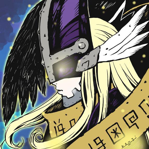 Tags: Anime, Watanabe Kenji, Digimon Adventure 2020, Digimon Adventure, MagnaAngemon, Twitter, Official Art