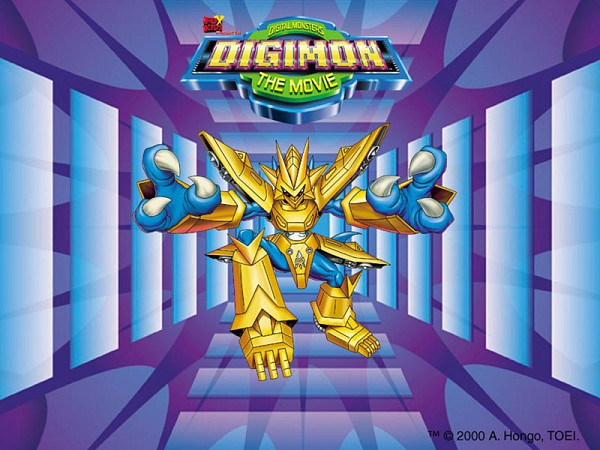 Tags: Anime, Digimon Adventure, Magnamon, Official Art, Official Wallpaper
